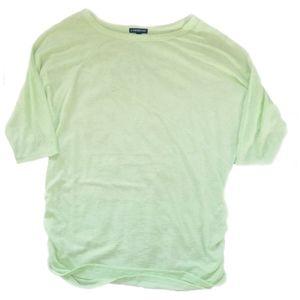 (neon green) LANE BRYANT DOLMAN TOP